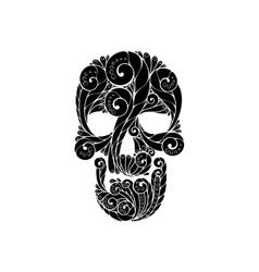Tribal tatto skull vector