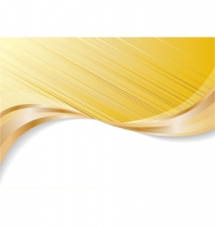 vector abstract gold background vector image