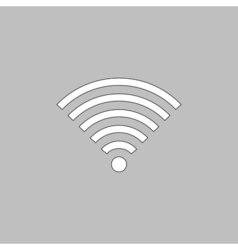 Wireless computer symbol vector image