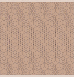 grid seamless pattern vector image