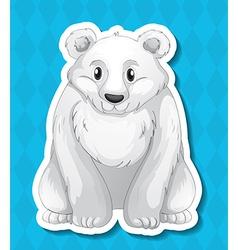 Polar bear vector image vector image