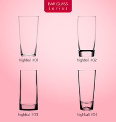 Realistic highballs vector