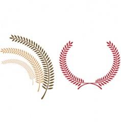 emblem template vector image vector image