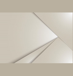 abstract white shiny layer diagonal with stripes vector image