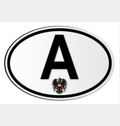 Austrian a plate vector