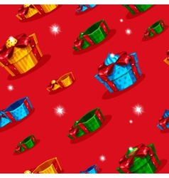 Background with gifts vector