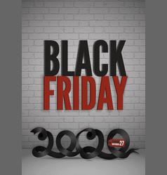 Black friday sale banner for social media stories vector