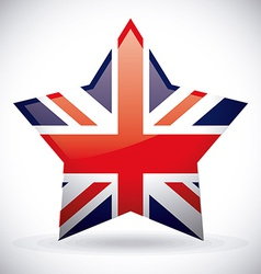 London design over white background vector