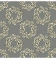 Seamless Doodle Tile vector image