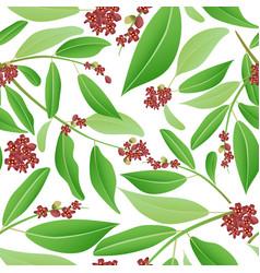 Seamless pattern sandalwood vector