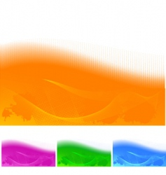 abstract color vector image vector image