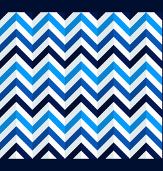 navy blue and white chevron pattern vector image vector image