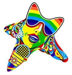 pop star vector image