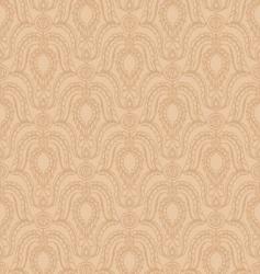 ornate wallpaper pattern vector image vector image
