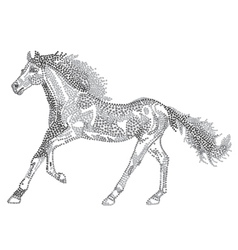 2014 Chinese Lunar New Year of the Horse Zodiac vector