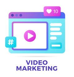 a social media vector image