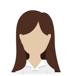 avatar woman icon vector image