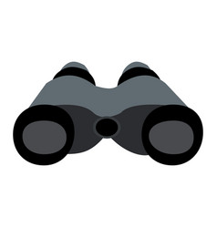 binocular icon isolated on white background vector image