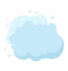 Cloud foam or dust vector