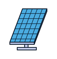 Energy solar panel sustainable ecology environment vector