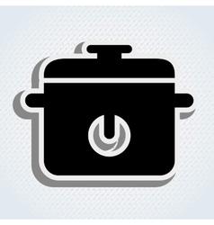 Kitchen appliance design vector