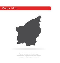 map san marino isolated vector image