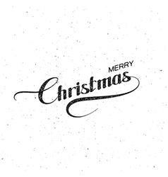 Merry Christmas Holiday vector