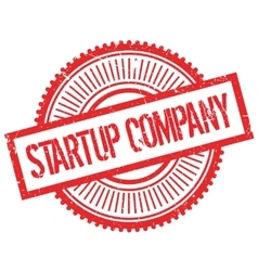 Startup company stamp vector
