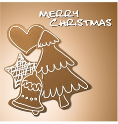 gingerbreads vector image