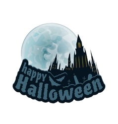 Happy Halloween Sticker vector image vector image