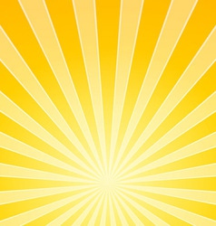 Yellow Bright Light Beams vector image vector image