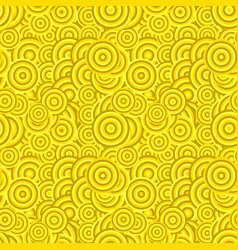 Abstract seamless concentric circle pattern vector