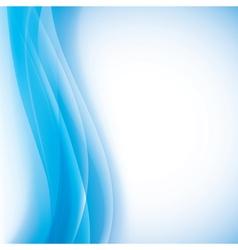aqua waves background vector image