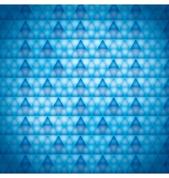 background blue triangles vector image