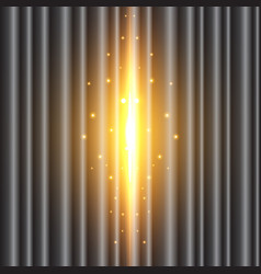 Background image of the black curtain is open vector