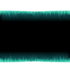 Blue sound wave on white background EPS8 vector image