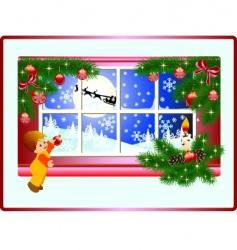 Christmas story vector