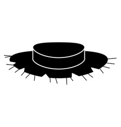Farmer hat isolated icon vector