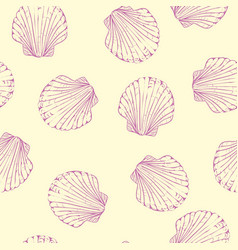 Hand drawn boho set of seamless pattern with vector