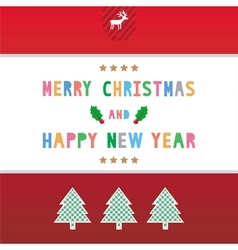 MC and HNY greeting card9 vector