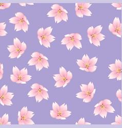 prunus serrulata outline - cherry blossom sakura vector image