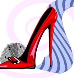 Tie and heel vector