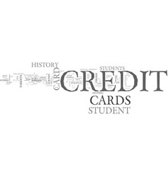 what sets a student credit card apart from other vector image