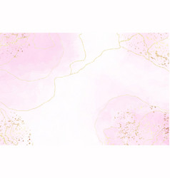 Abstract pink liquid watercolor background vector