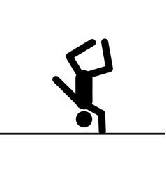 acrobat icon vector image