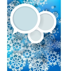 Christmas balls design cut the paper vector image