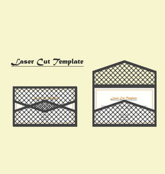 Digital file for laser cutting the vector
