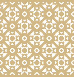golden seamless pattern in asian abstract style vector image