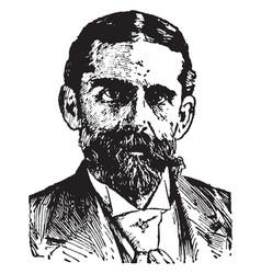 Henry jackson van dyck vintage vector