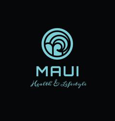 Maui logo vector
